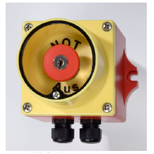 Emergency switch with glass panel Type C65/G (waterproof) Image